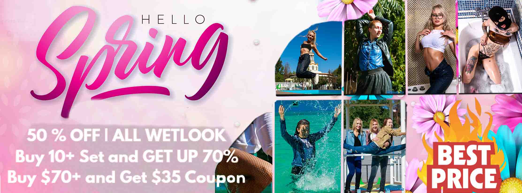 Wetlook Spring Sale