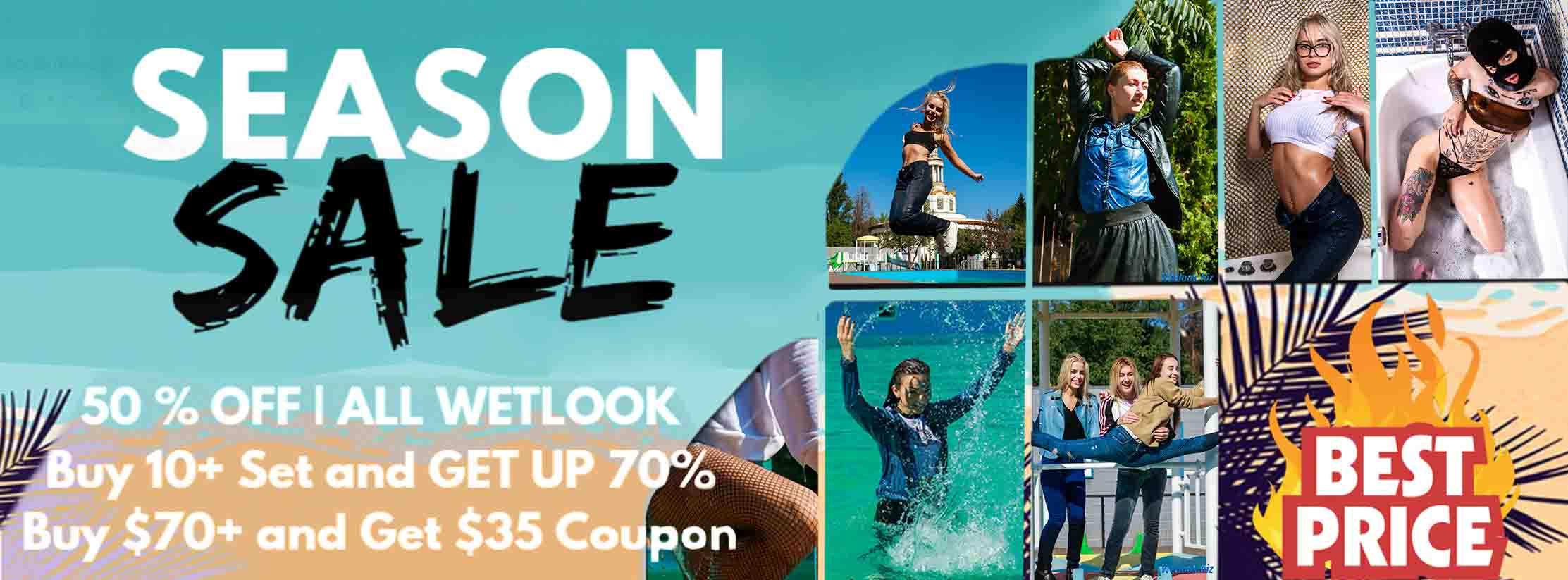 Wetlook season sale - wetlook.biz